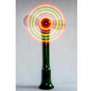 Мини вентилятор настольный со светящимися лопастями украсит праздник